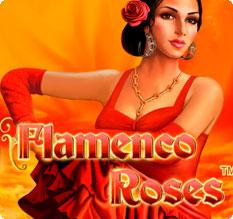Gaminator онлайн безмездно играть во Flamenco Roses