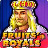 Игровой автомат Fruits n Royals ото производителя Novomatic