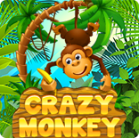 Играть Crazy Monkey бесплатно, Обезьянки онлайн сверх регистрации
